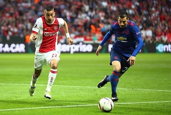 LE: Ajax - Man. United 16/17