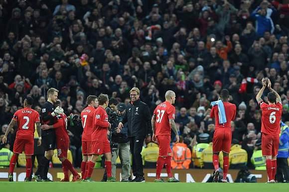 1.70 - Liverpool (581 golos/343 jogos)