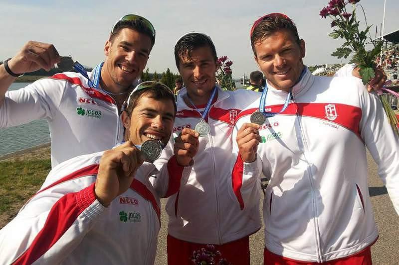 Maio: Portugal vice-campeão da Europa em K4 1.000