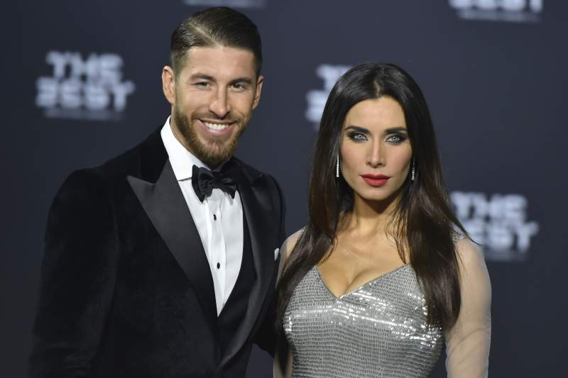 Sergio Ramos e Pilar Rubio
