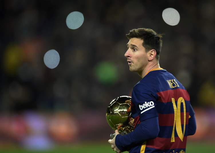 01 - Lionel Messi - Barcelona