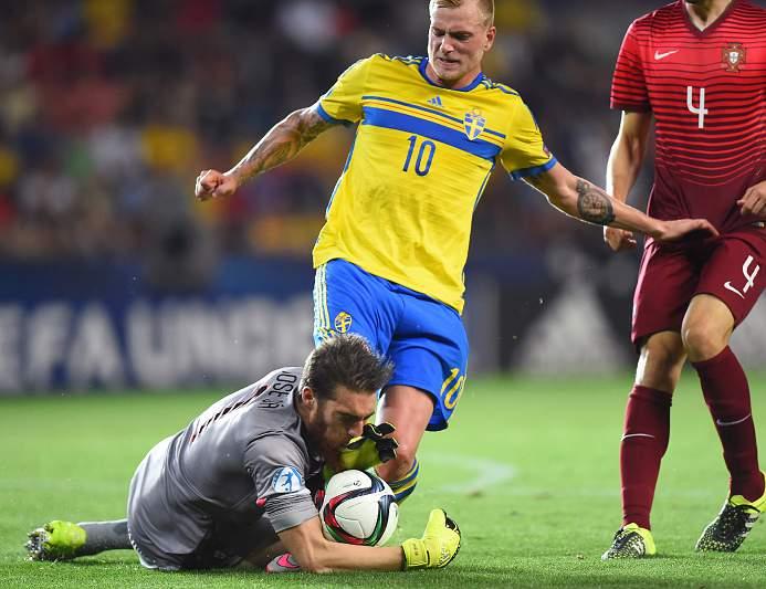 Junho: Suécia sagra-se campeã europeia de sub21