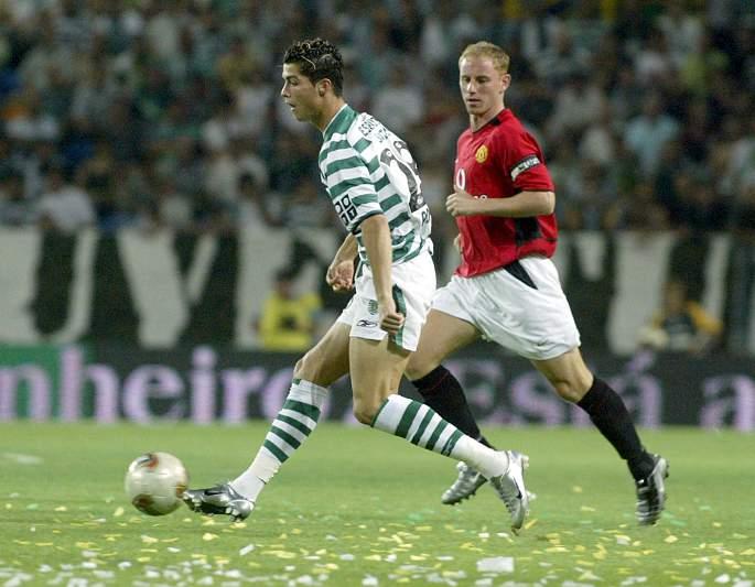 Amigável contra o Manchester United (06/08/03)