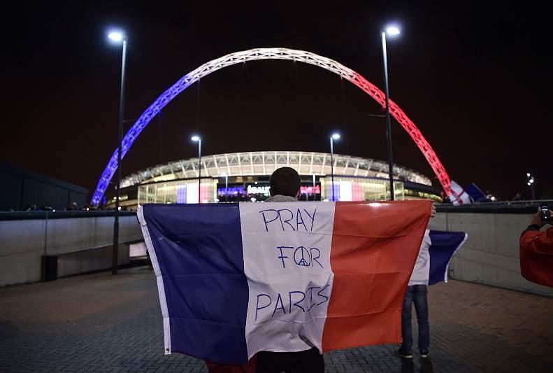 Futebol mundial solidarizou-se com a França