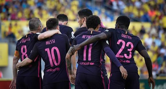 Barcelona também apurado