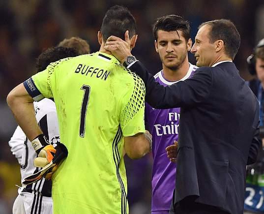 LC: Juventus - Real Madrid 16/17