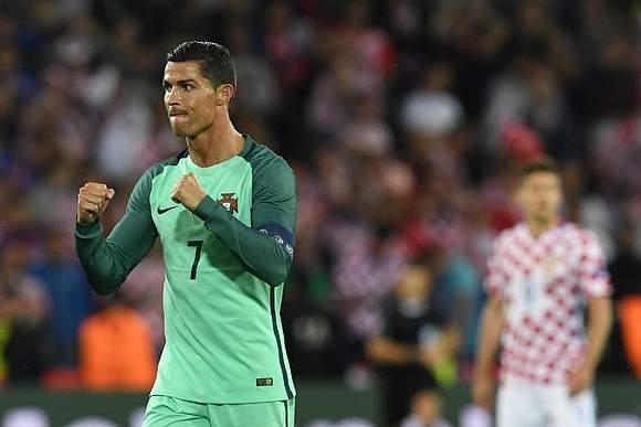 Festejo de Ronaldo