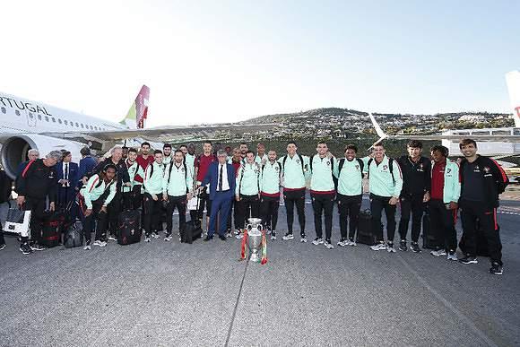 A Taça chegou à Madeira