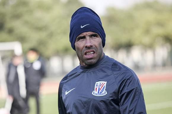7 - Carlos Tévez - 10,5 ME