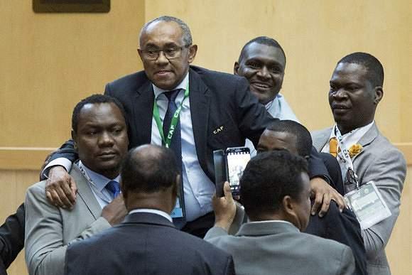 Ahmad Ahmad é o novo presidente da CAF