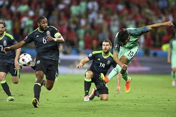 Portugal mediu forças com Gales