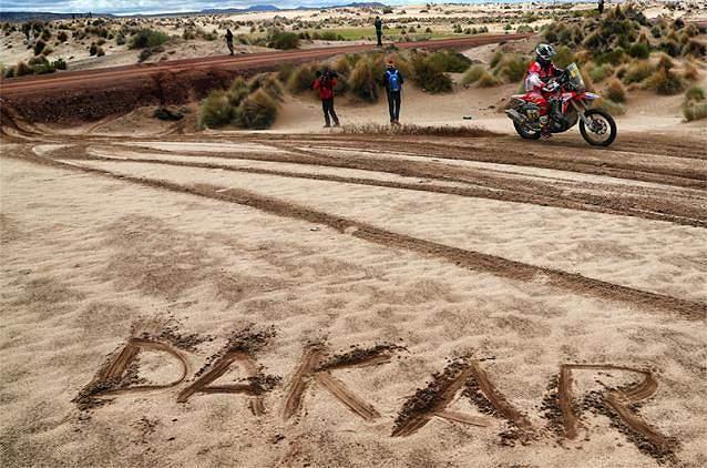As melhores imagens da 7ª etapa do Dakar