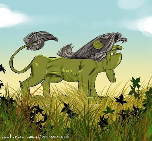 A nova juba do leão