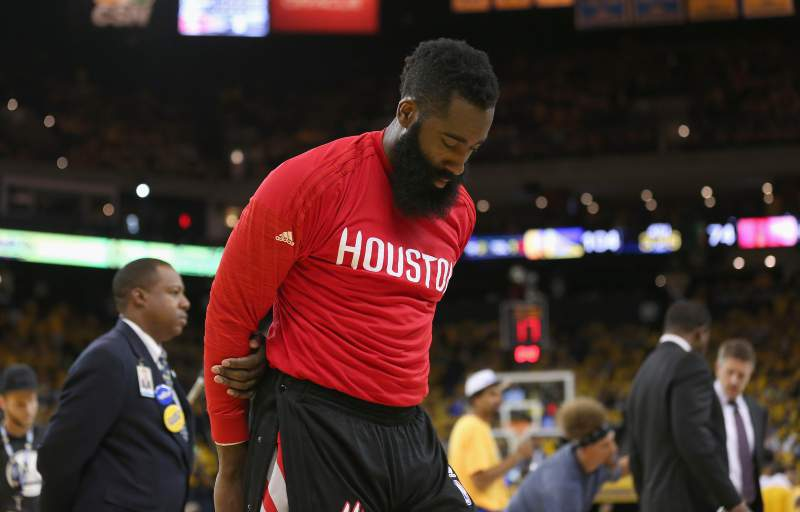5 - James Harden (Houston Rockets) - 23,7 ME