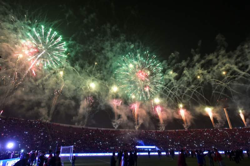 Festa em Santiago, Chile