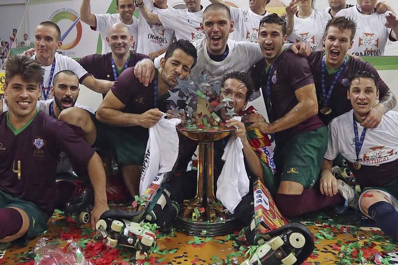 Portugal campeão europeu de hóquei em patins