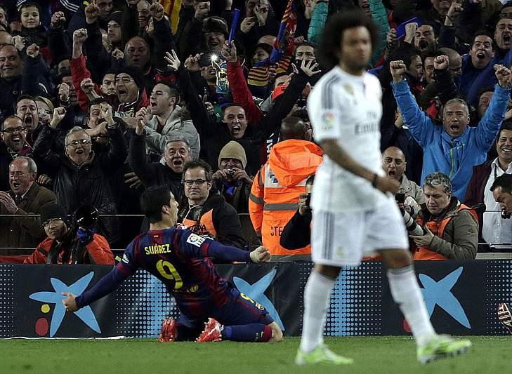 Barça bate Real no Super Clássico