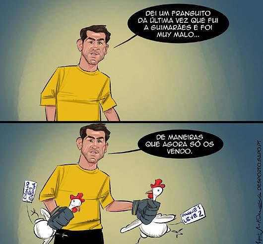 A quanto é que está o frango?