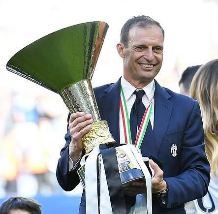 Allegri, técnico da Juventus