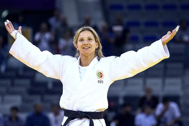 Junho: Telma Monteiro de Ouro em Baku