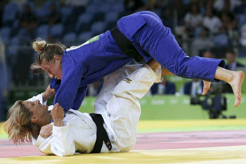 08/08: Telma Monteiro de bronze no Rio