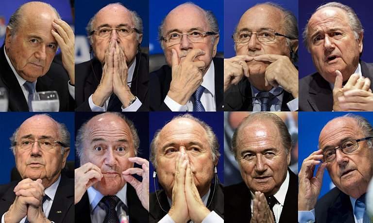 O escândalo FIFA chegou a Blatter