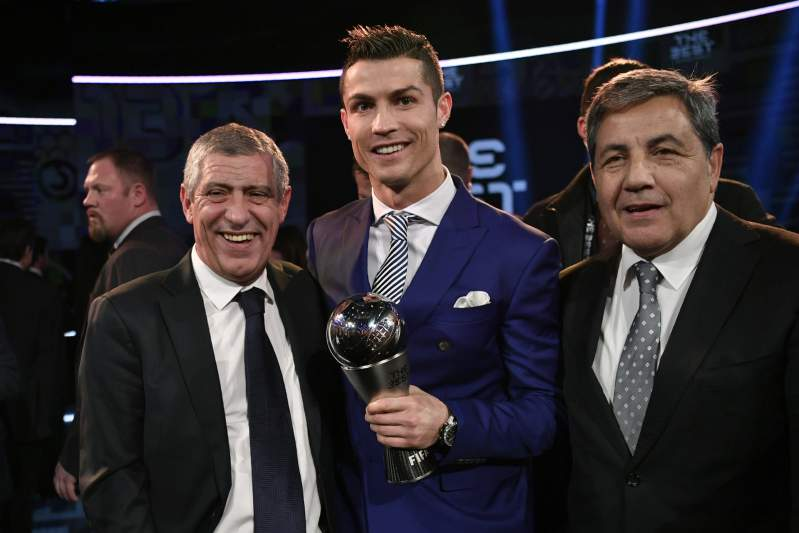 Cristiano Ronaldo, The Best (09/01/17)