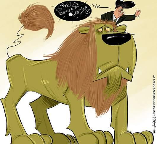 O rouco rugido do leão