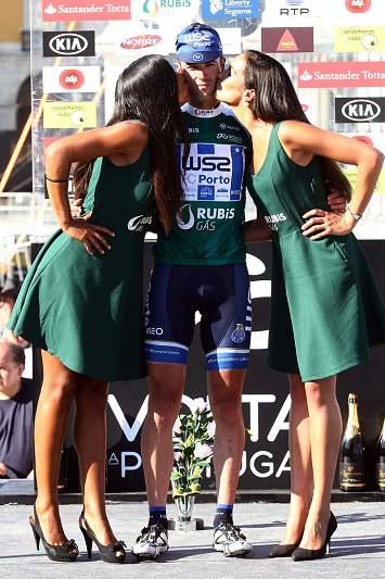 Gustavo Veloso, vencedor da camisola dos pontos