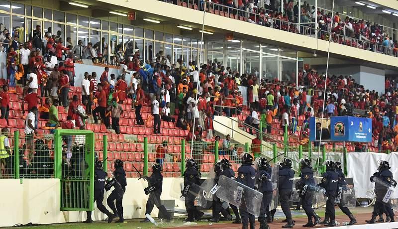 CAN2105: Incidentes no Guiné Equatorial-Gana