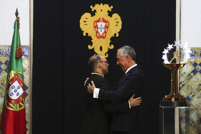 Marcelo dá os parabéns à Luís Sénica