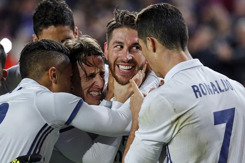 Há sempre Sergio Ramos...