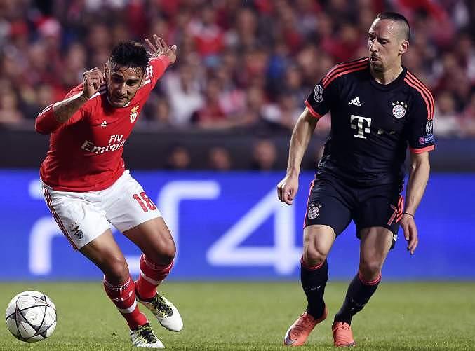 Salvio e Ribery