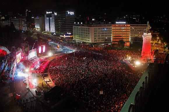 Salão de festas do Benfica recebeu o tetra