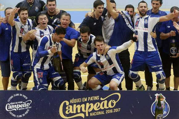 FC Porto sagra-se campeão de hóquei em patins