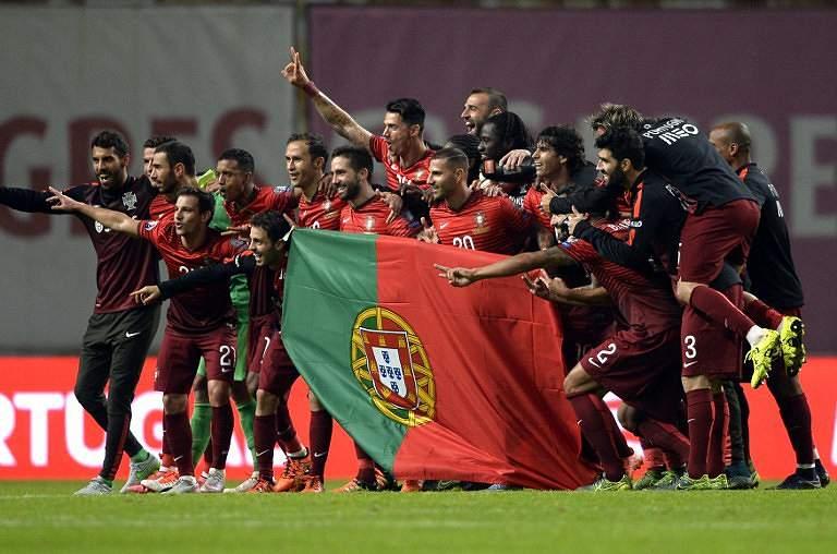 O momento da qualificação portuguesa