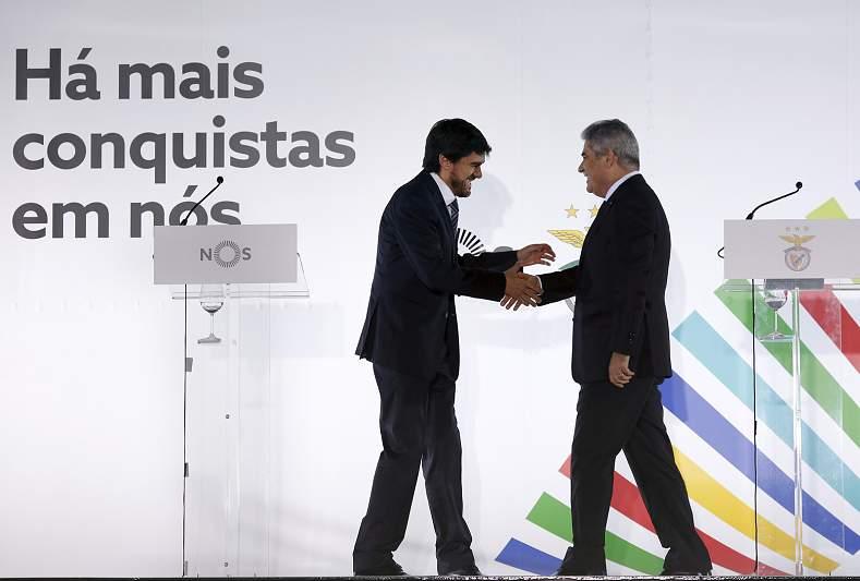 NOS e Benfica assinam acordo milionário