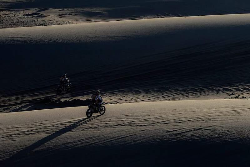 Enfrentando as areias