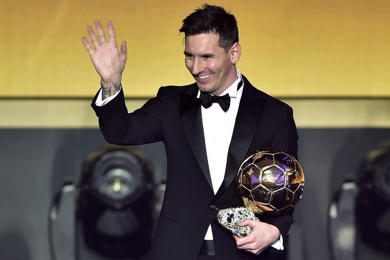 Lionel Messi conquistou a Bola de Ouro em 2016