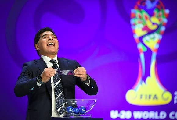 A Argentina de Maradona