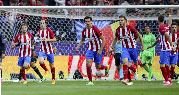 Saúl Ñiguez fez o 1-0