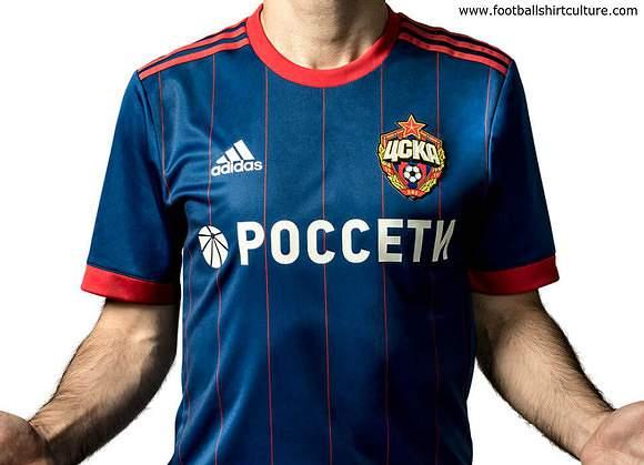 Camisola principal do CSKA de Moscovo