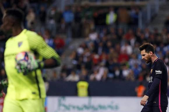 Messi caído em desgraça