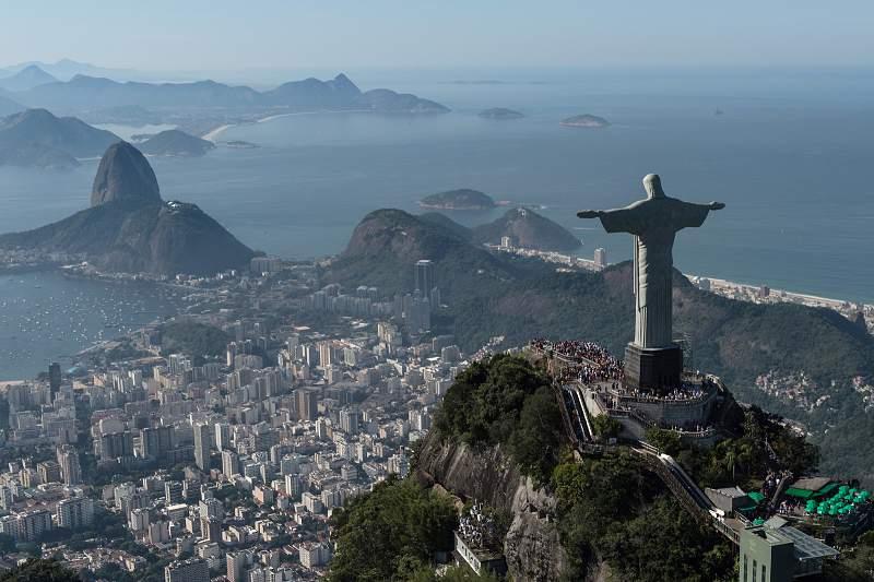 O Cristo Rei espera os Jogos Olímpicos