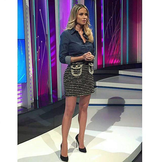 Diletta Leotta deixou Balotelli colado à televis