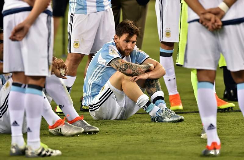 Messi anuncia o adeus à seleção argentina