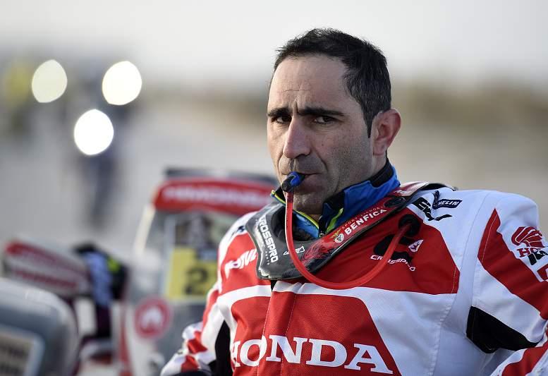 Paulo Gonçalves no Dakar 2016