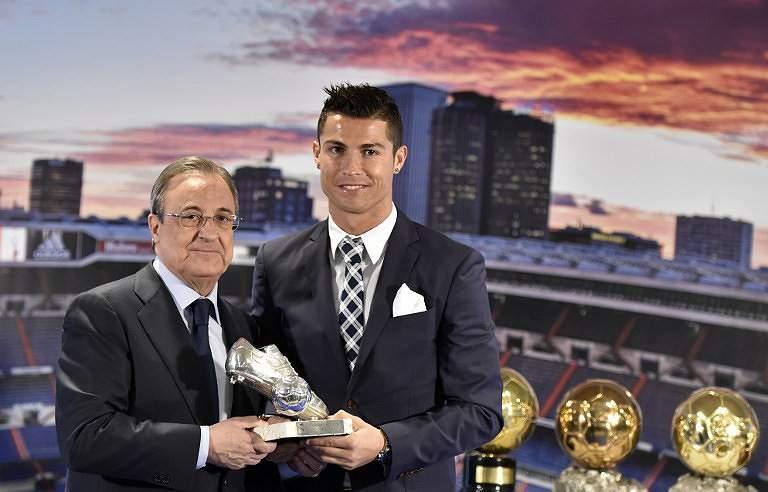Ronaldo recebe quarta Bota de Ouro