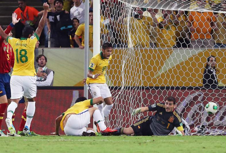 Brasil-Espanha: Confed. Cup