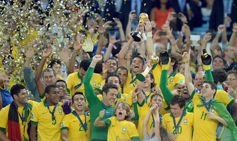 A festa brasileira na Taça das Confederações74